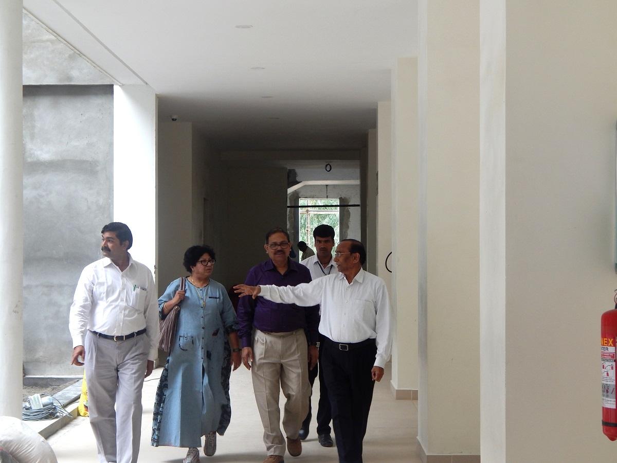 Dr.Tapas & Dr. Rima Kundu visit JIMS