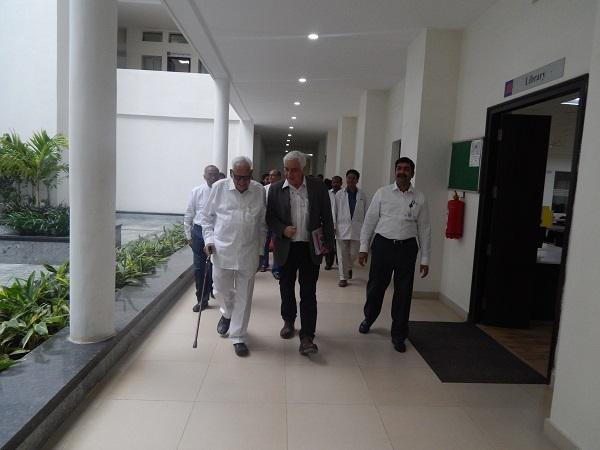 Dr. Oberbaum & Dr. Anupriya visited JIMS