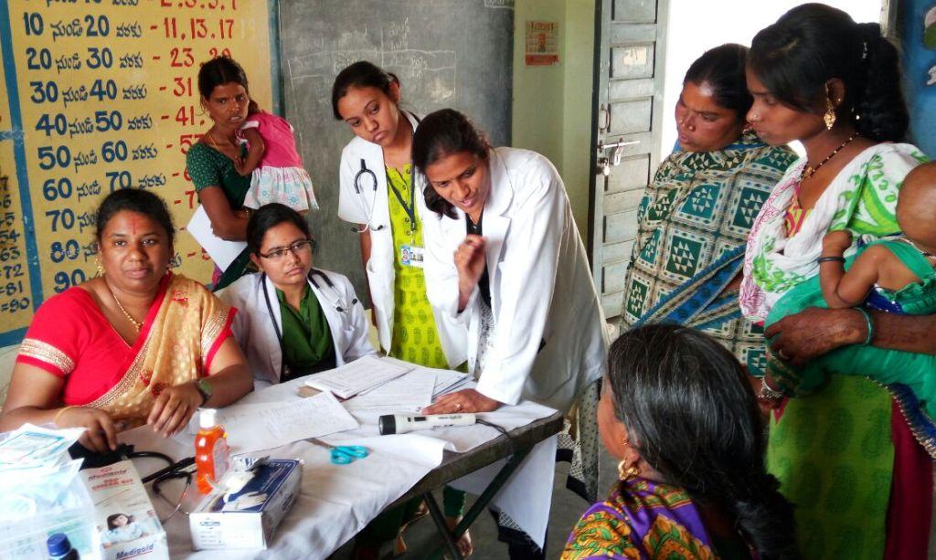 Women Health Camp at penjarla