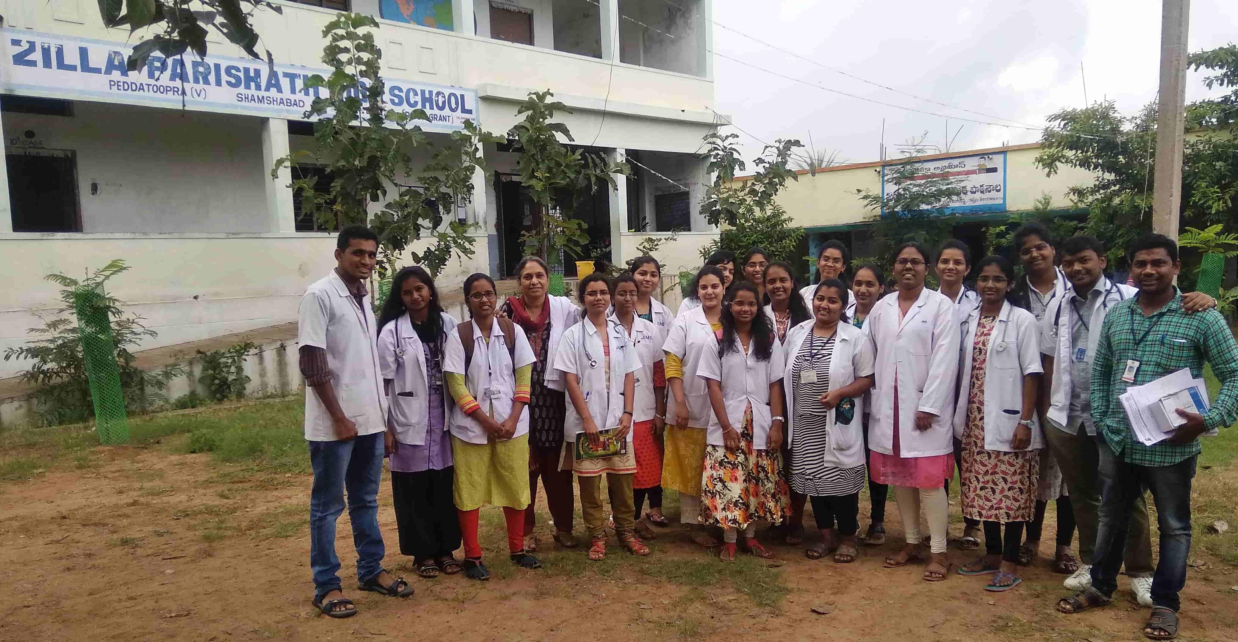 School health Camp – Peddathupra