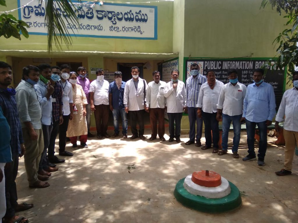 Distribution of Immunity Boosters - Rangapur village