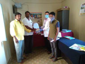 Distribution of Immunity boosters – Bahadurguda village (2nd Phase)