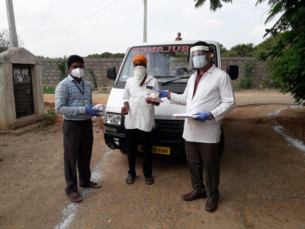 Distribution of Immunity boosters – Madanapally village (2nd Phase)