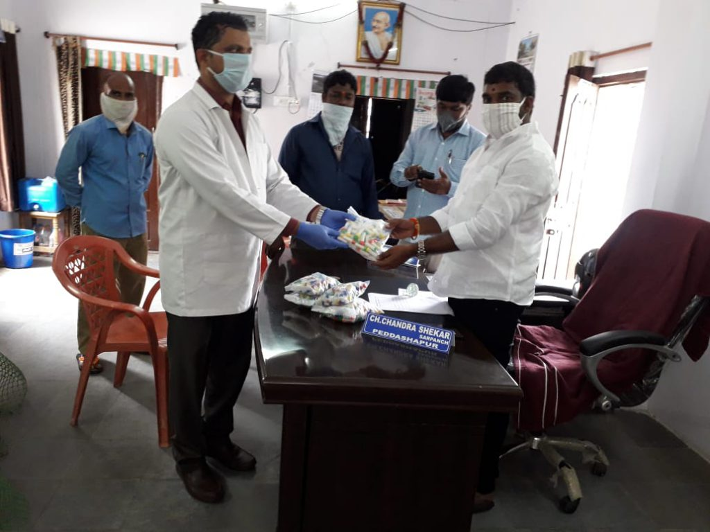 Distribution of Immunity boosters – Peddashapur (2nd Phase)