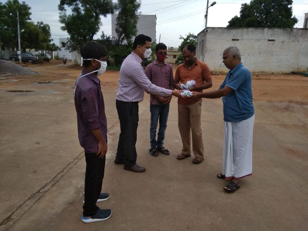 Distribution of Immunity boosters – Shankarapuram village ( Second Phase)