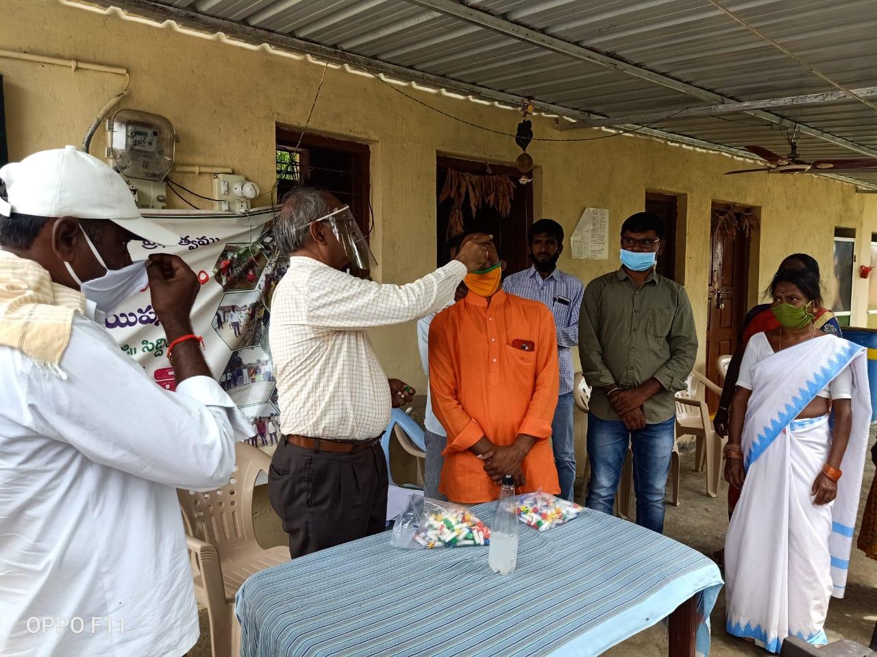 Distribution of Immunity boosters – Begumpet, Appayapalli, Yelkal