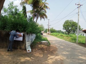 Janandolan campaign on COVID 19 @ Pochettiguda village