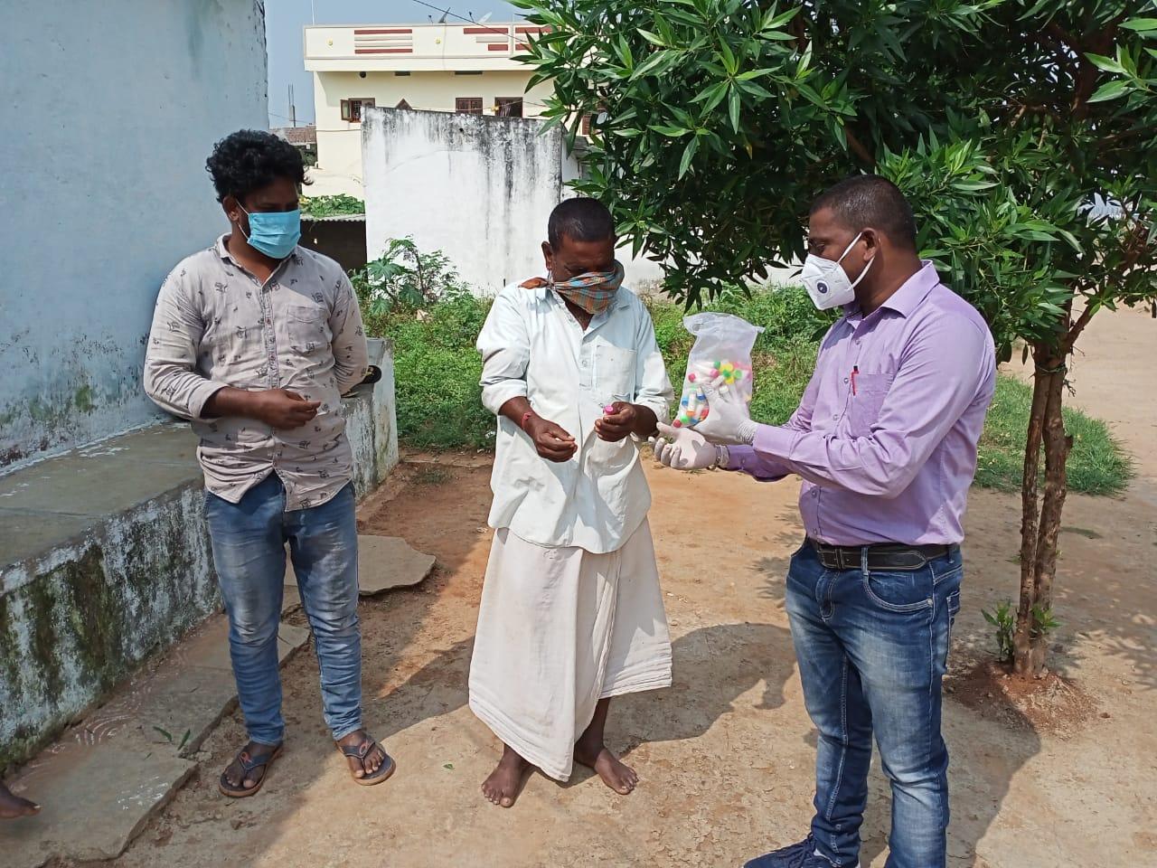 Janandolan campaign on COVID 19 – Inamsheri village comes under Palamakula panchayat