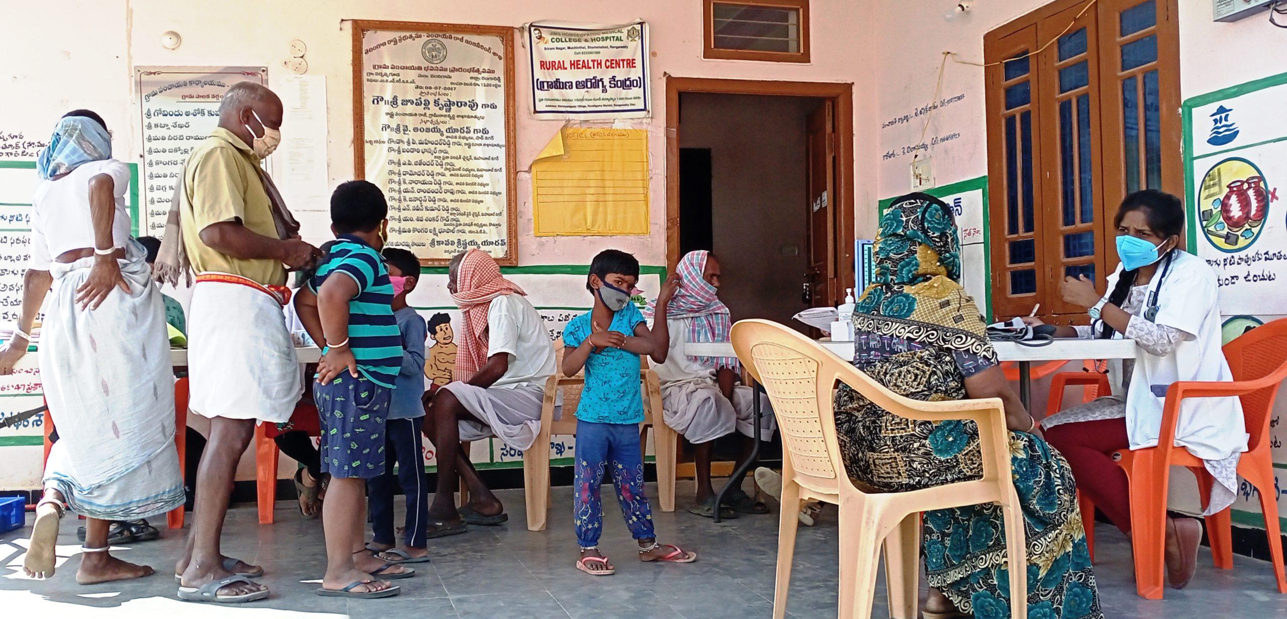 The Medical Camp Was Organized At Narsappaguda
