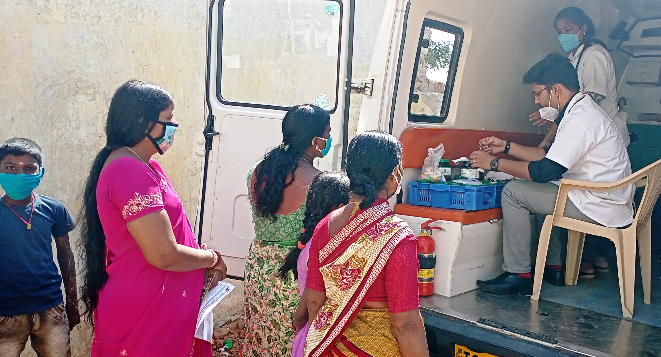The Medical Camp Was Organised At Mankhal Municipal Ward (Tukkuguda)